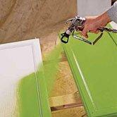 покраска мебели из сосны